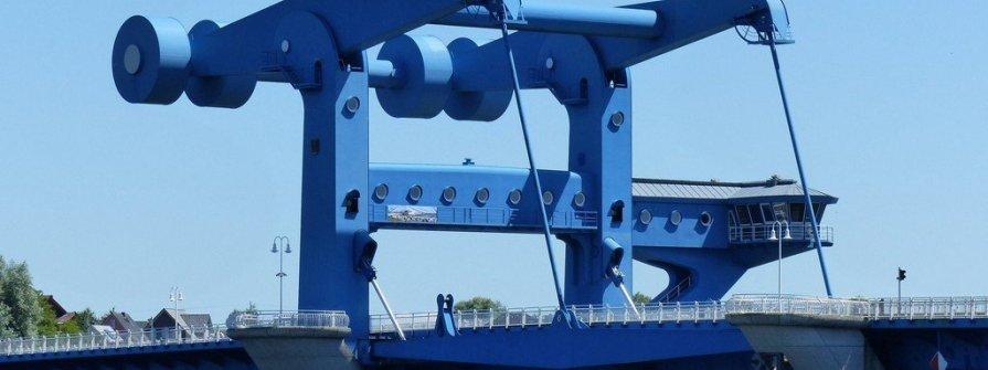 Wolgast - Hafen der Schiffswerft Horn
