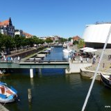 Yachtcharter Stralsund - Fährkanal