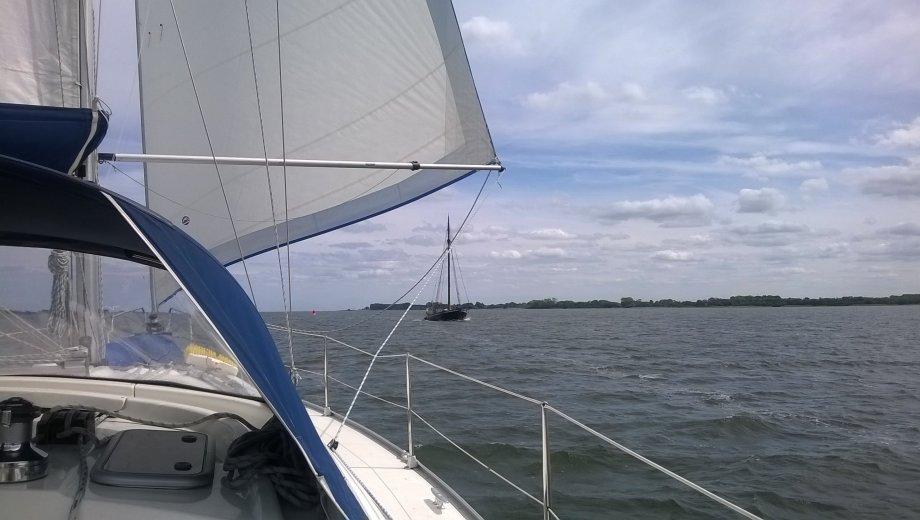 "Bavaria 39 cruiser in Marina Neuhof ""Stella"""